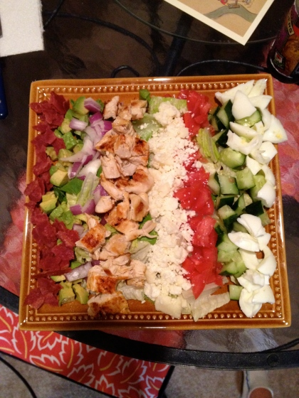Healthy Cobb Salad - Charleston Crafted