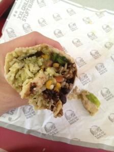 The burrito inner-workings
