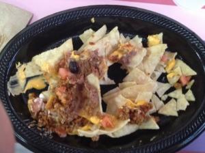 Weak sauce nachos