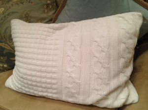 Knit Pillow - Pottery Barn - Charleston Crafted