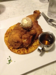 Chicken and Waffle - Charleston Crafted