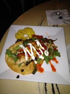 Fish Tostada - Charleston Crafted