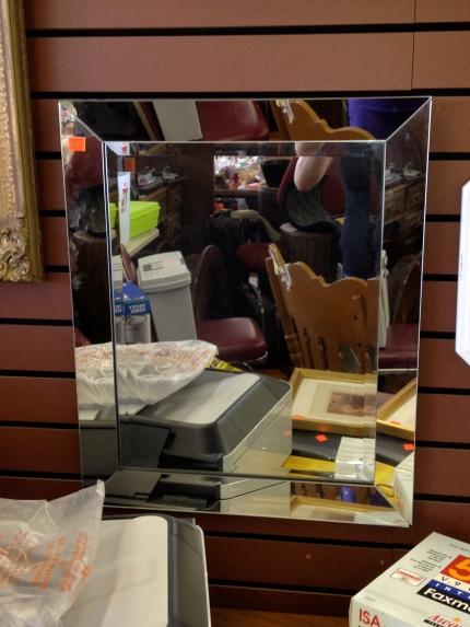 Framed Mirror - ReTail Thrift Store - Charleston, SC