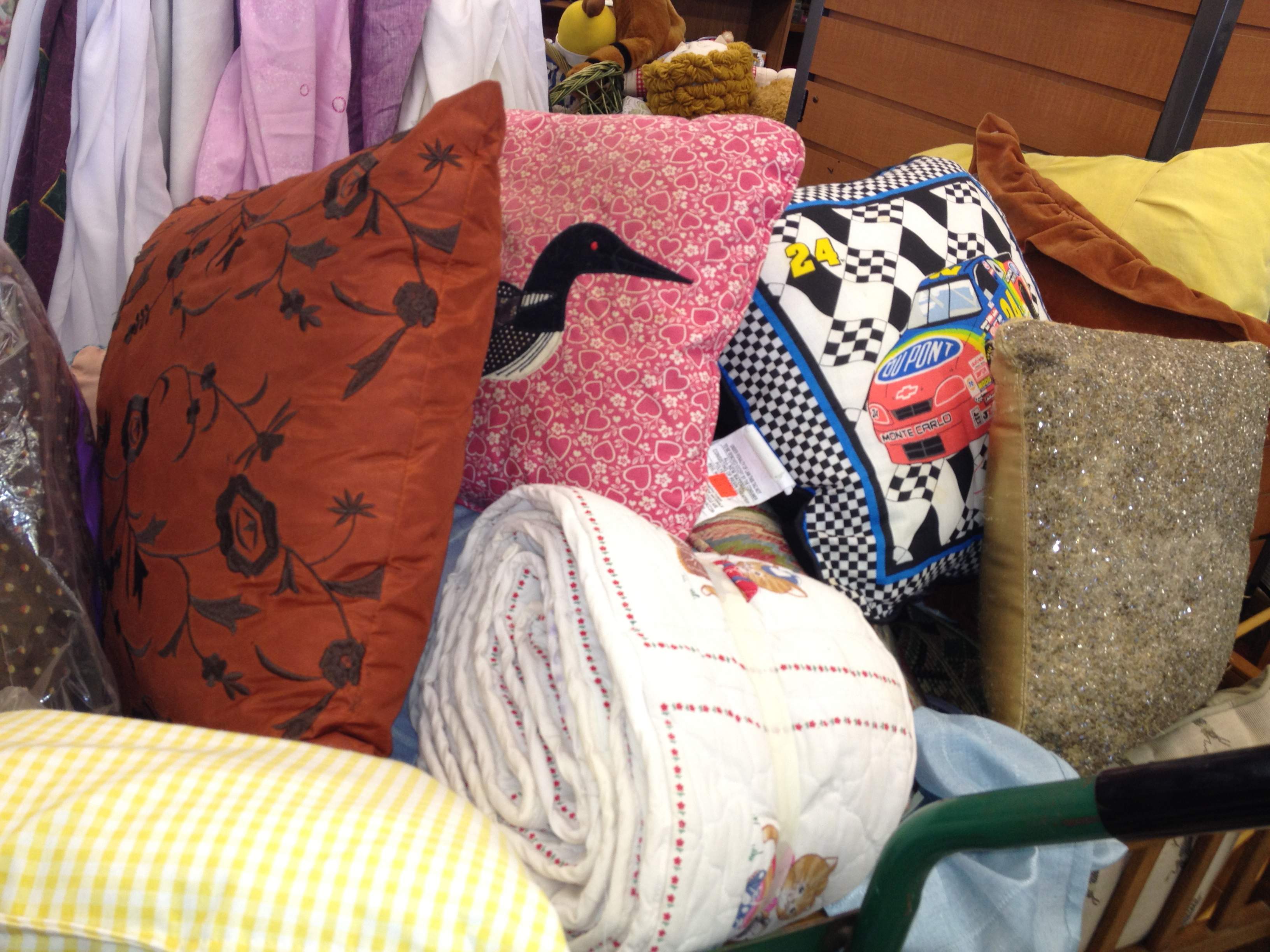 Pillows - ReTail Thrift Store - Charleston, SC