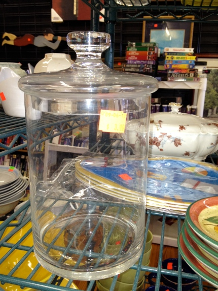 Glass Jar - ReTail Thrift Store - Charleston, SC