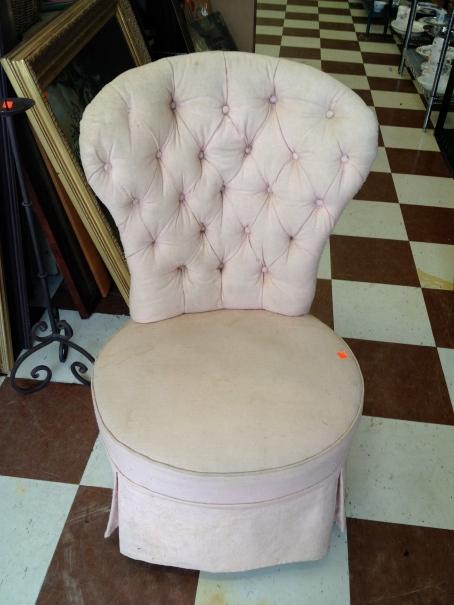Vanity Chair - ReTail Thrift Store - Charleston, SC