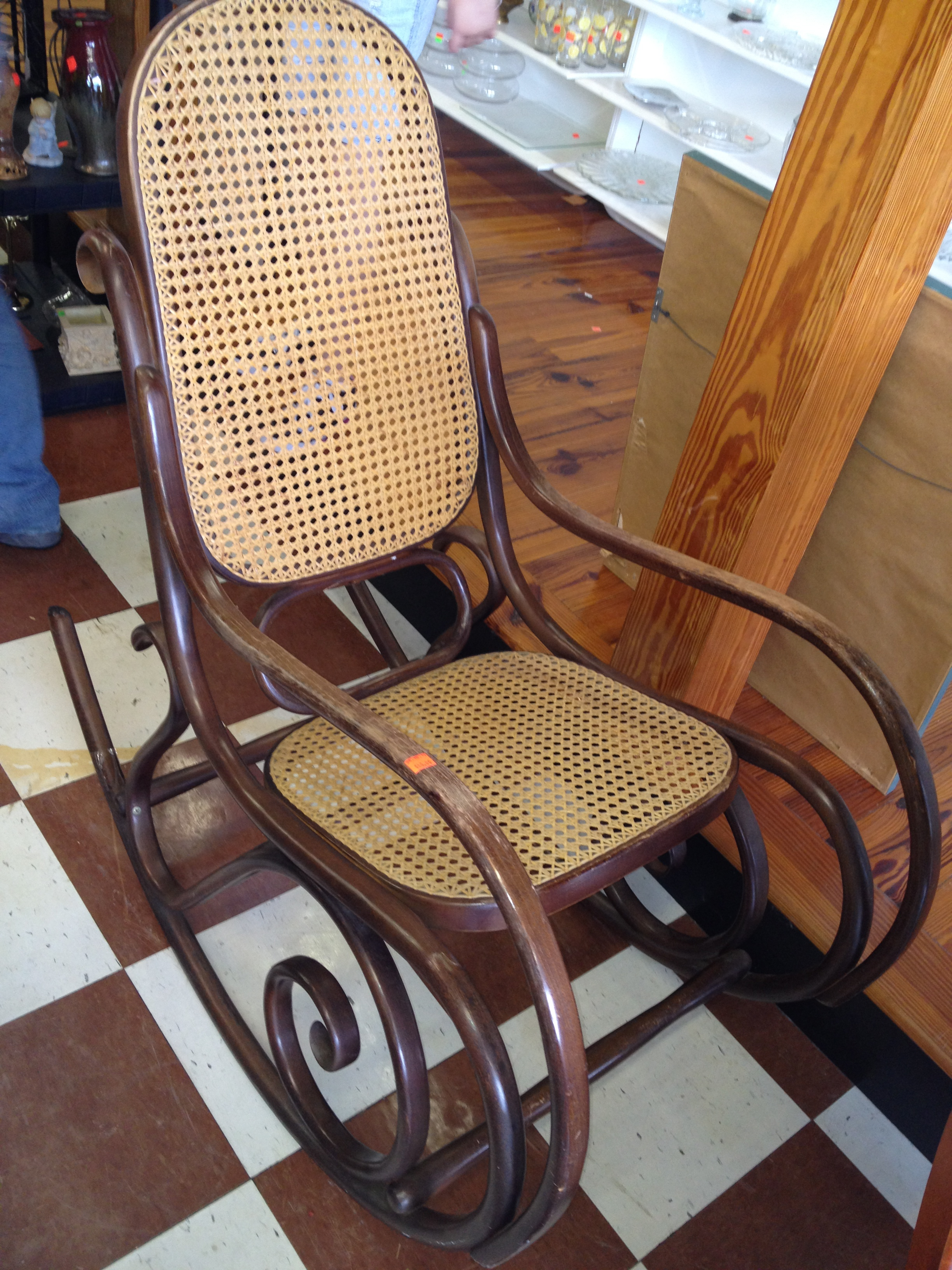 Cane Rocker - ReTail Thrift Store - Charleston, SC