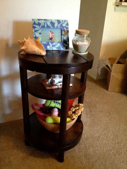 Side Table Make Over - After - Charleston Crafted