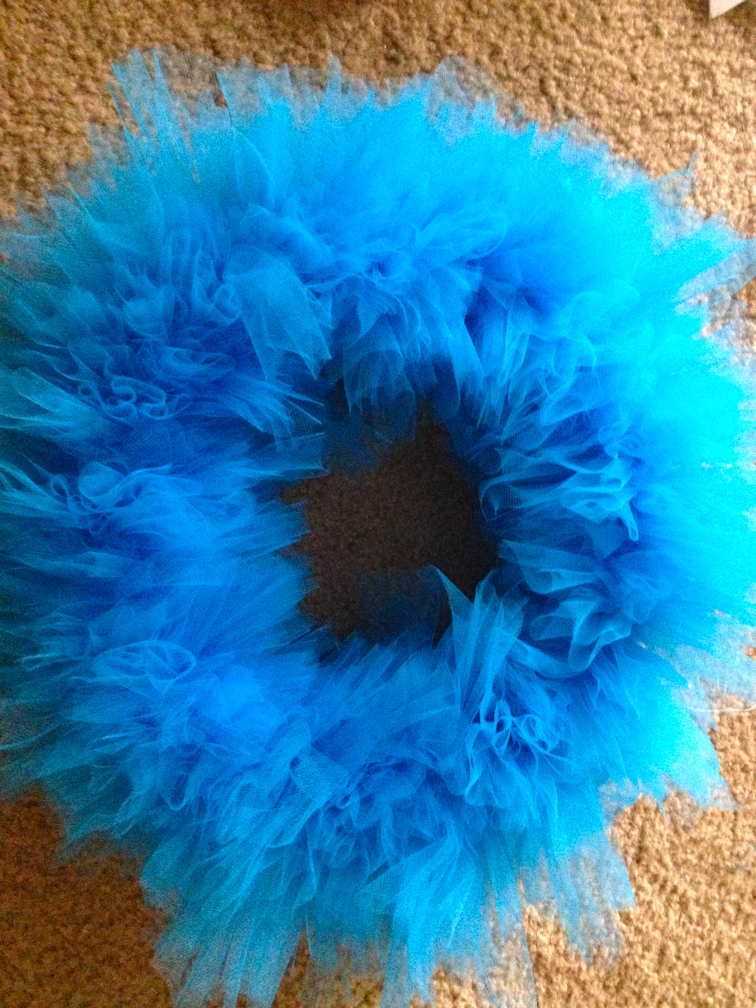 Making a Tulle Wreath - Charleston Crafted