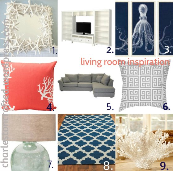 Living Room Inspiration - Charleston Crafted