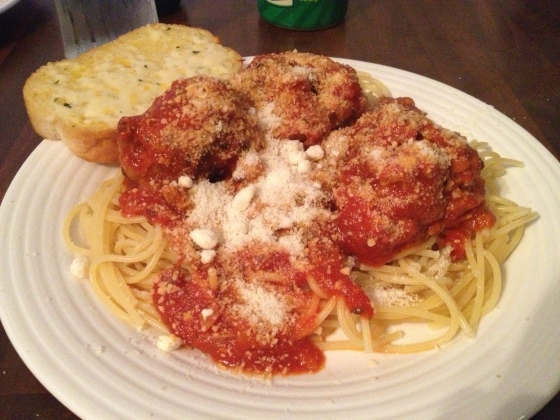 Spaghetti and Meatballs - Charleston Crafted