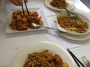 Chinese Food in China Town