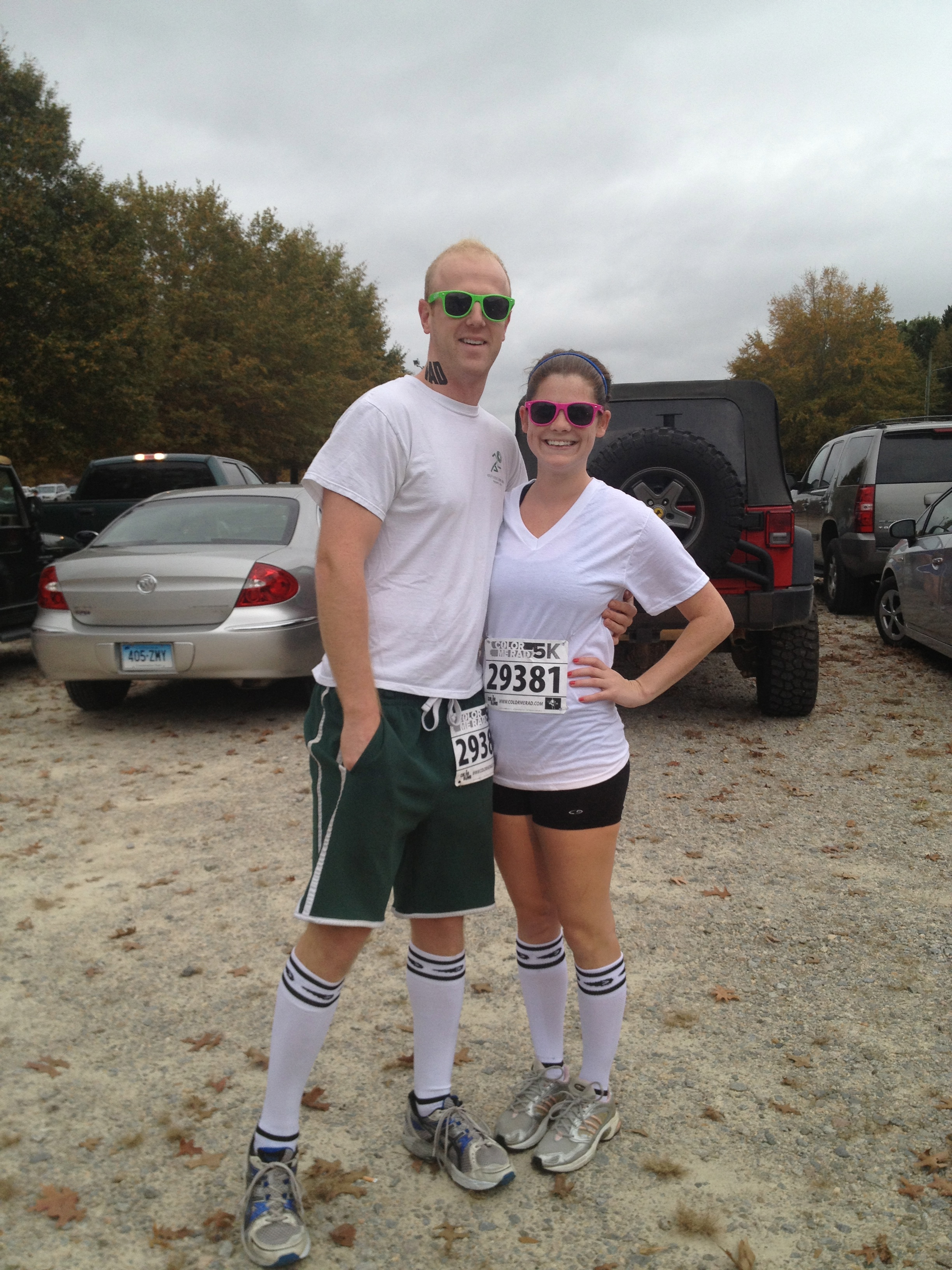 Pre-Race - Color Me Rad - Charleston Crafted