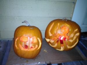 Final Pumpkin Carvings - Charleston Crafted