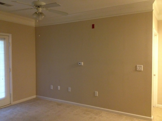 Living Room Before - Charleston Crafted