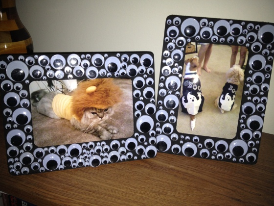 Halloween Eye Ball Frames - Charleston Crafted