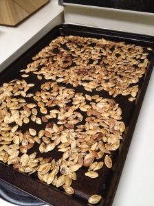 Finished Pumpkin Seeds - Charleston Crafted