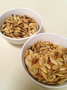 Baked Pumpkin Seeds - Charleston Crafted
