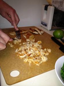 Shredding Chicken - Charleston Crafted