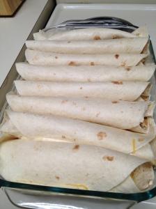 Enchiladas in pan - Charleston Crafted