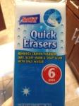 Dollar Store Magic Erasers