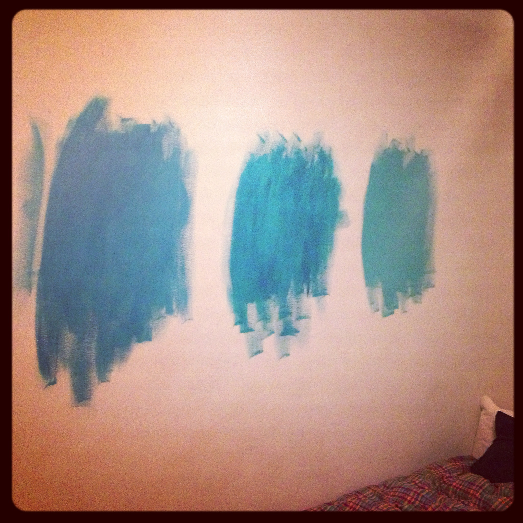 Teal Paint Samples - charleston crafted