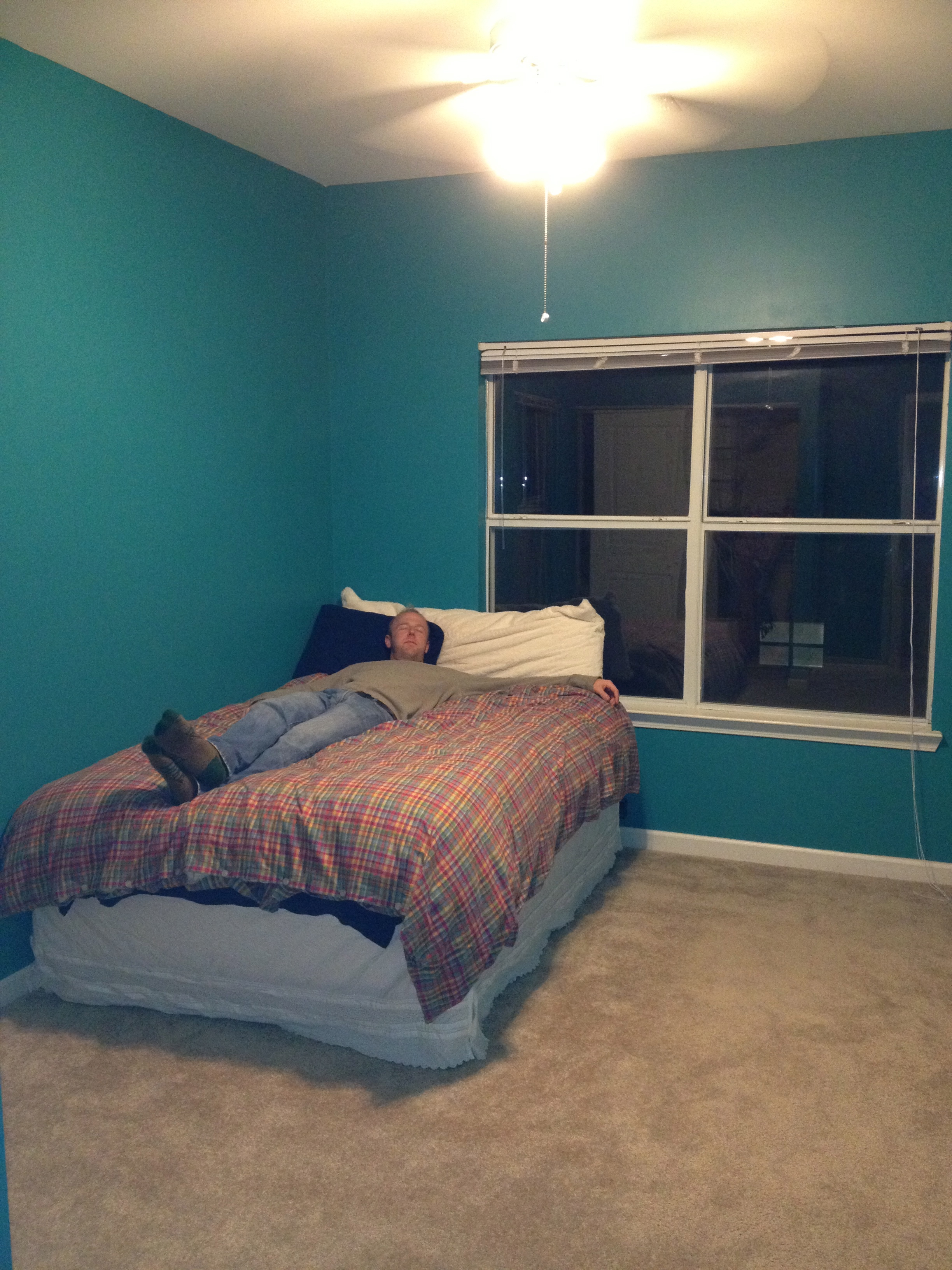 Teal Bedroom Paint Another Painting Makeover Guest Room Edition Charlestoncrafted