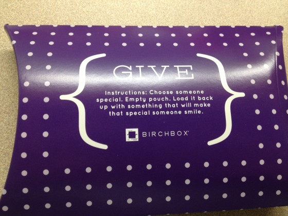 November birchbox - Charleston Crafted
