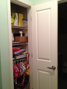 Closet Before - Charleston Crafted