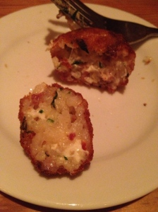 Wild Olive Risotto Fritters - Charleston Crafted