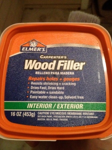 Wood Filler- Charleston Crafted