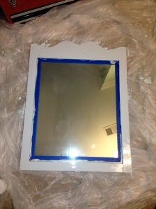Painting Mirror- Charleston Crafted