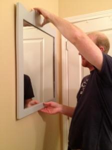 Hanging Mirror- Charleston Crafted