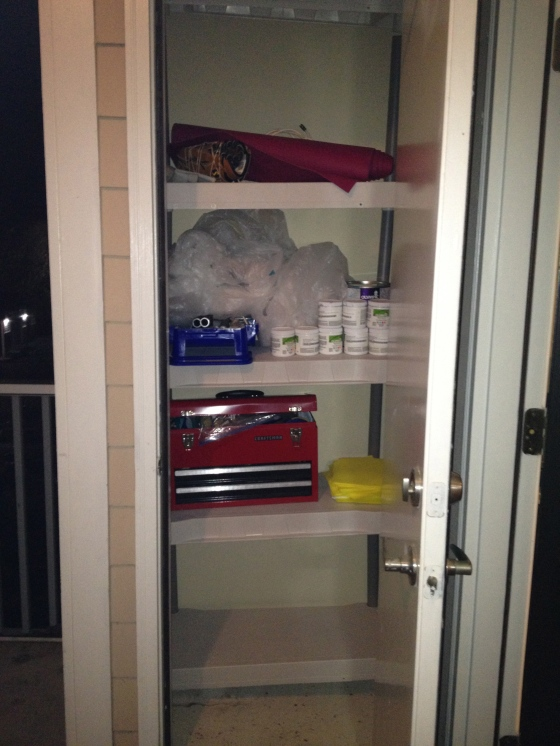 Utility Closet After- Charleston Crafted