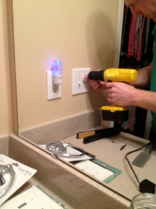 IMGInstalling a Towel Ring- Charleston Crafted