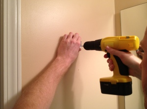 Installing a Towel Ring- Charleston Crafted
