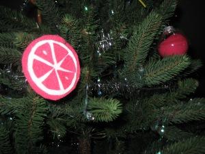 Felt Citrus ORnaments - Charleston Crafted