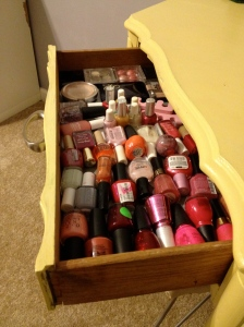vanity after