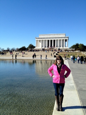 Morgan in DC!