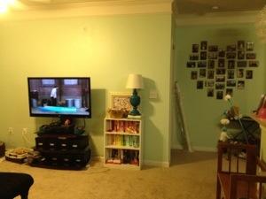 rearrange living room