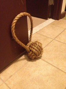 Monkey Fist Doorstop - Charleston Crafted