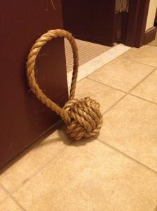 Monkey Fist Doorstop - Charleston Crafted