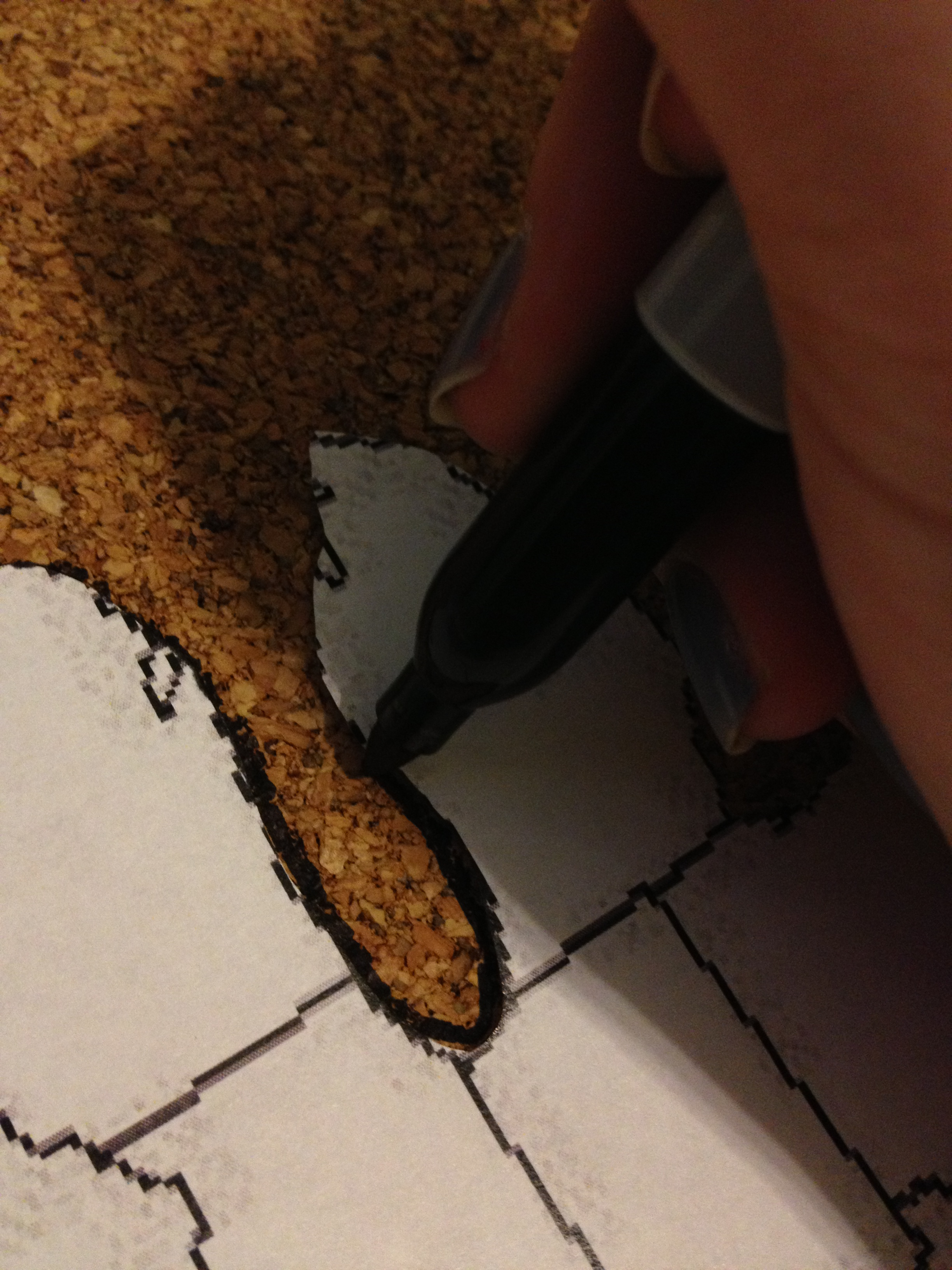 Travel Tracking a DIY Cork Map Charleston Crafted – Travel Tracking Map