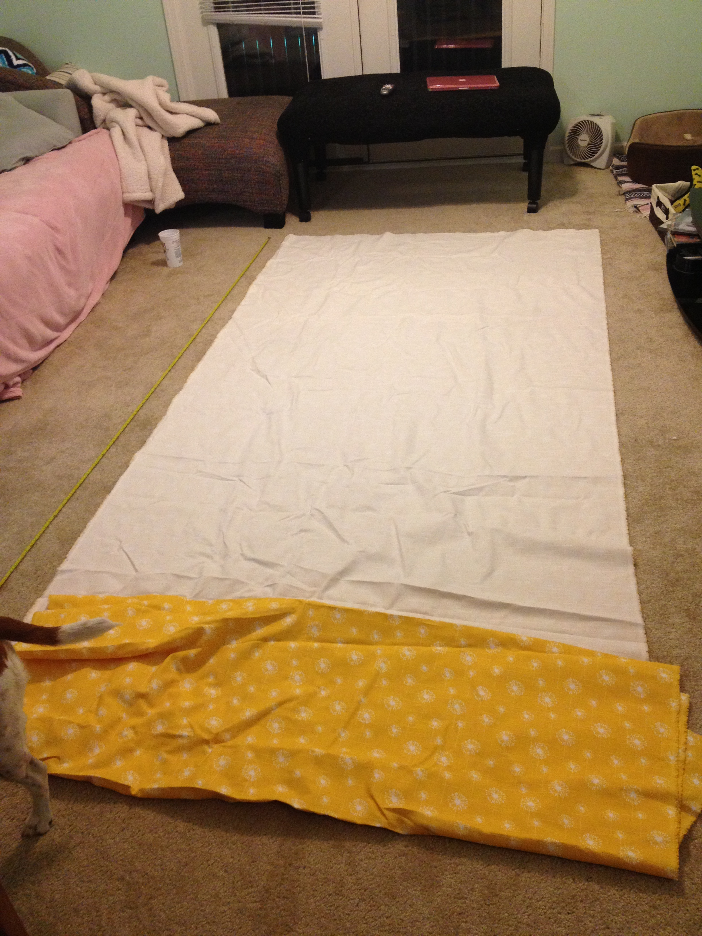 Diy No Sew Curtains No Sew Fully Lined Grommeted Window Curtain Panels