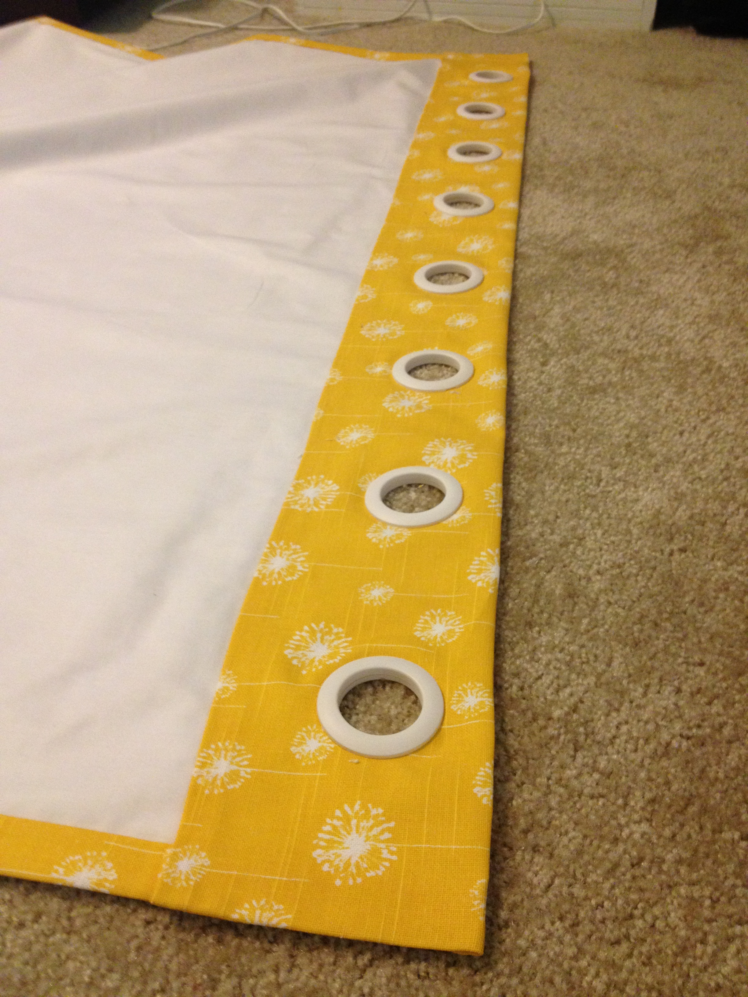 Making curtains with grommets - Img_3816 1